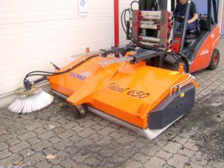 Seprőgép Ideal Ø 650